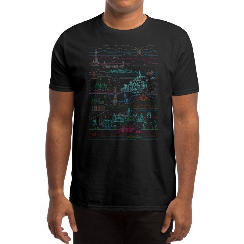 Epic Story Line Men's T-Shirt by Threadless Artist Shop