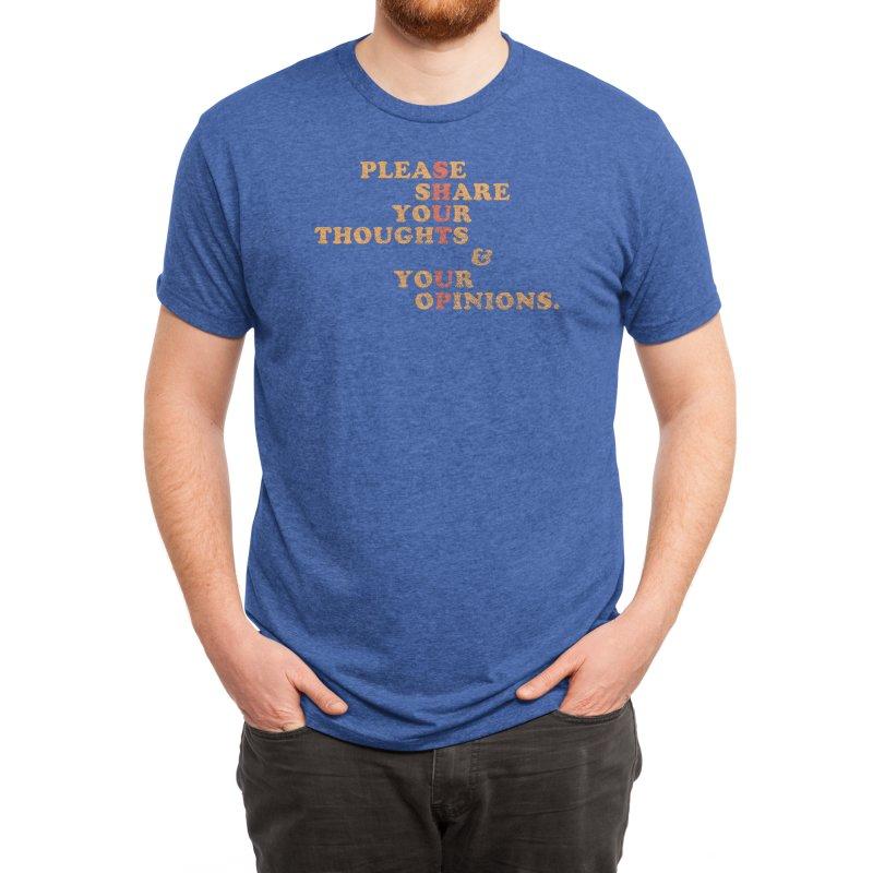Shut Up And Talk Men's T-Shirt by Threadless Artist Shop