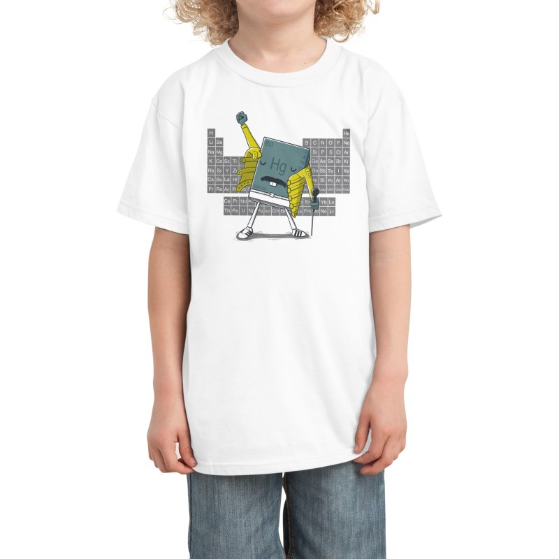 Freddie Mercury Kids T-Shirt by Threadless Artist Shop