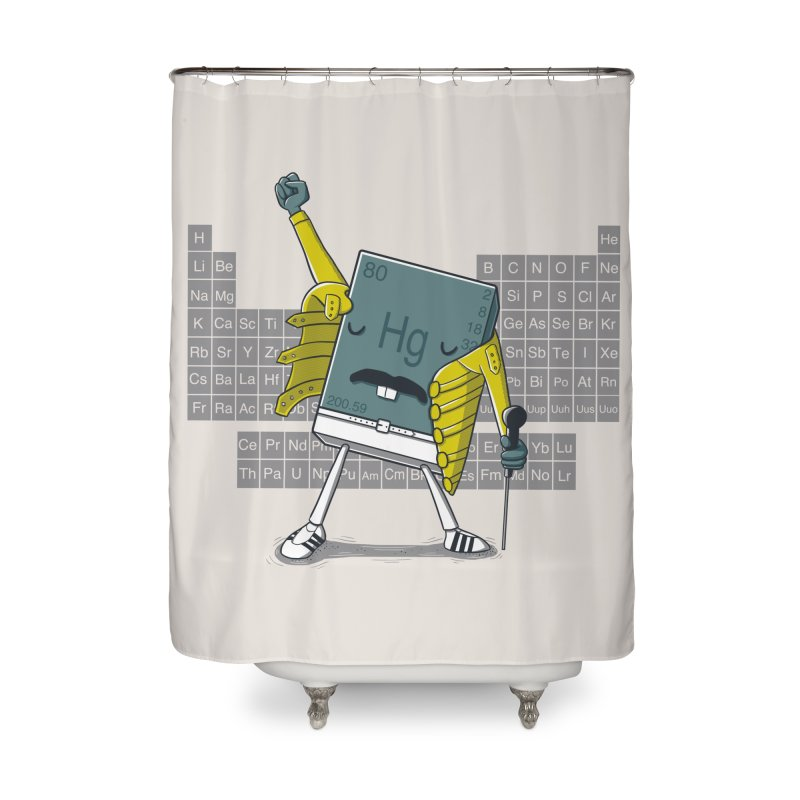 Freddie Mercury Home Shower Curtain by Threadless Artist Shop