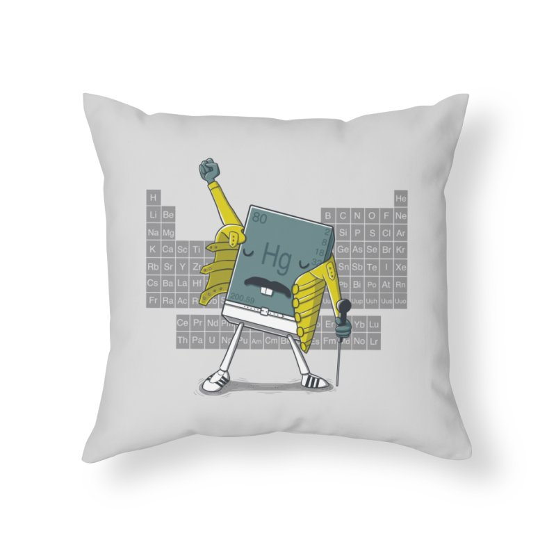 Freddie Mercury Home Throw Pillow by Threadless Artist Shop