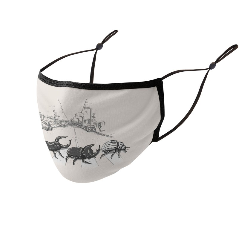 The Beetles Accessories Face Mask by Threadless Artist Shop