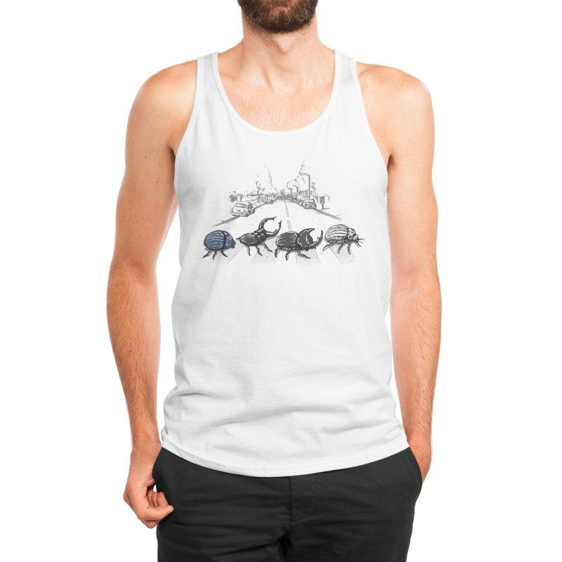 The Beetles Men's Tank by Threadless Artist Shop