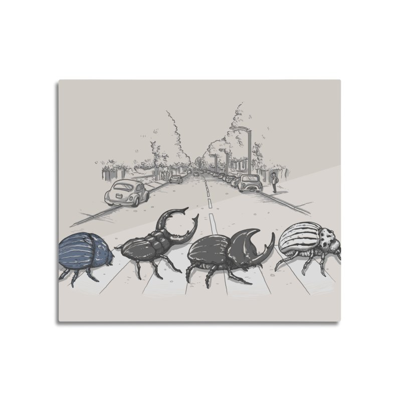 The Beetles Home Mounted Acrylic Print by Threadless Artist Shop