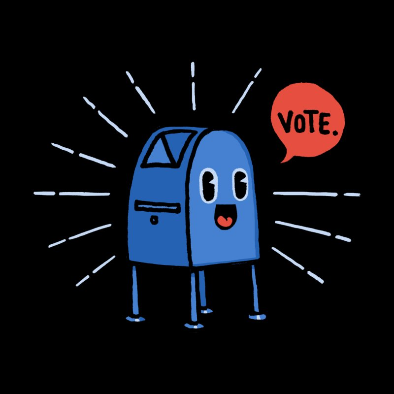 Vote! Men's T-Shirt by Threadless Artist Shop