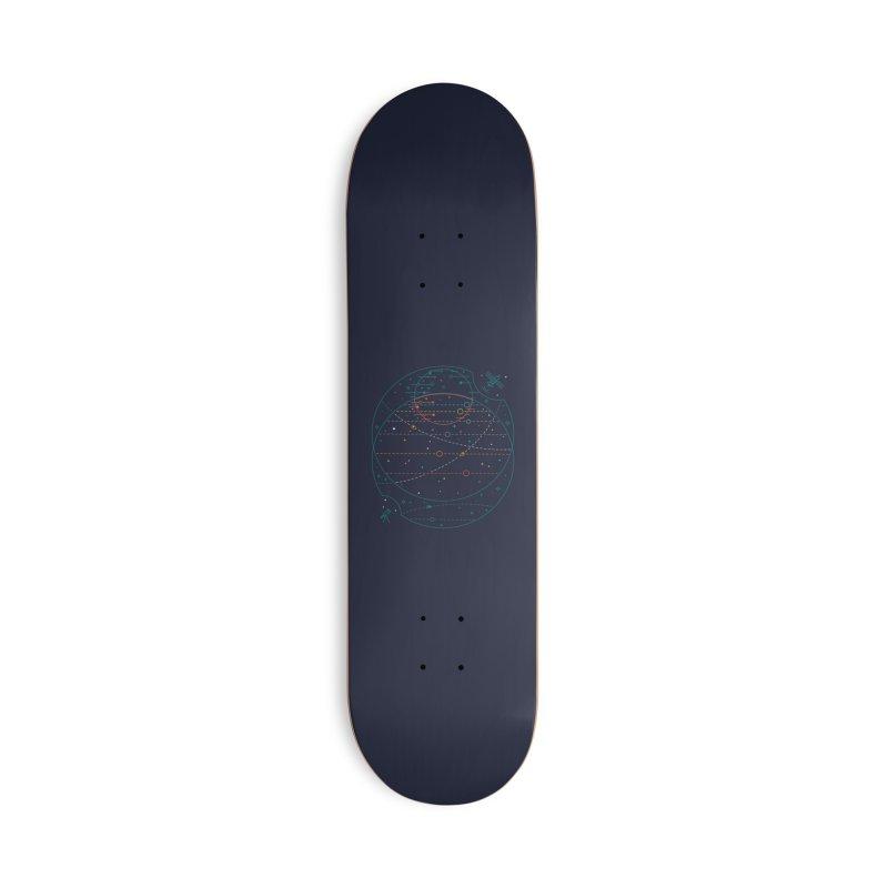 Trappist 1 Accessories Skateboard by Threadless Artist Shop