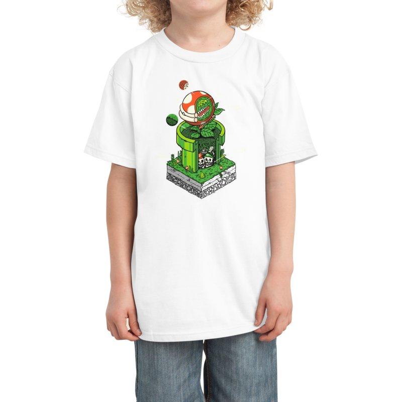 -1UP Kids T-Shirt by Threadless Artist Shop