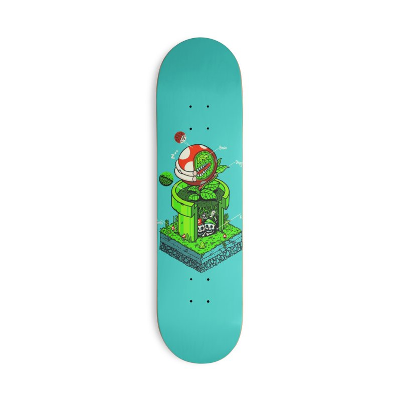 -1UP Accessories Skateboard by Threadless Artist Shop