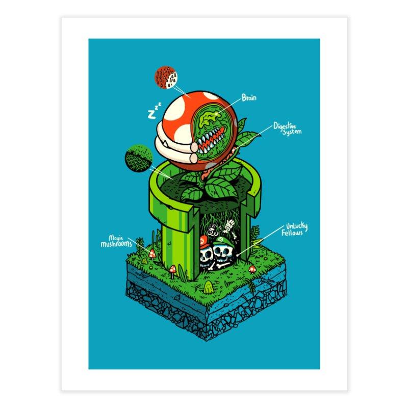 -1UP Home Fine Art Print by Threadless Artist Shop