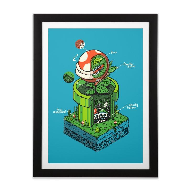 -1UP Home Framed Fine Art Print by Threadless Artist Shop