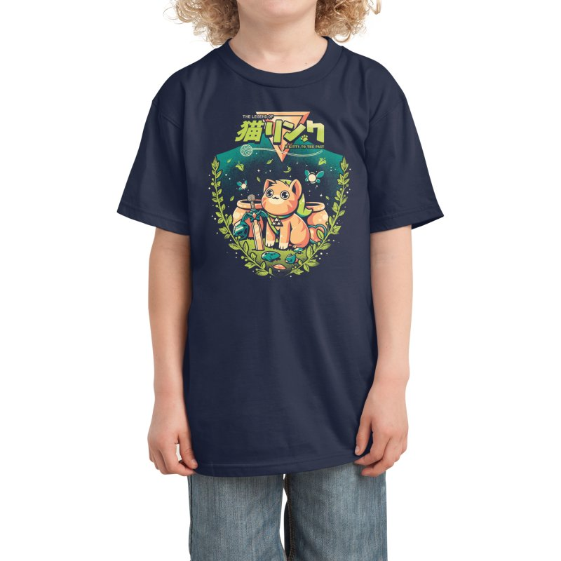 A Kitty to the past Kids T-Shirt by Threadless Artist Shop