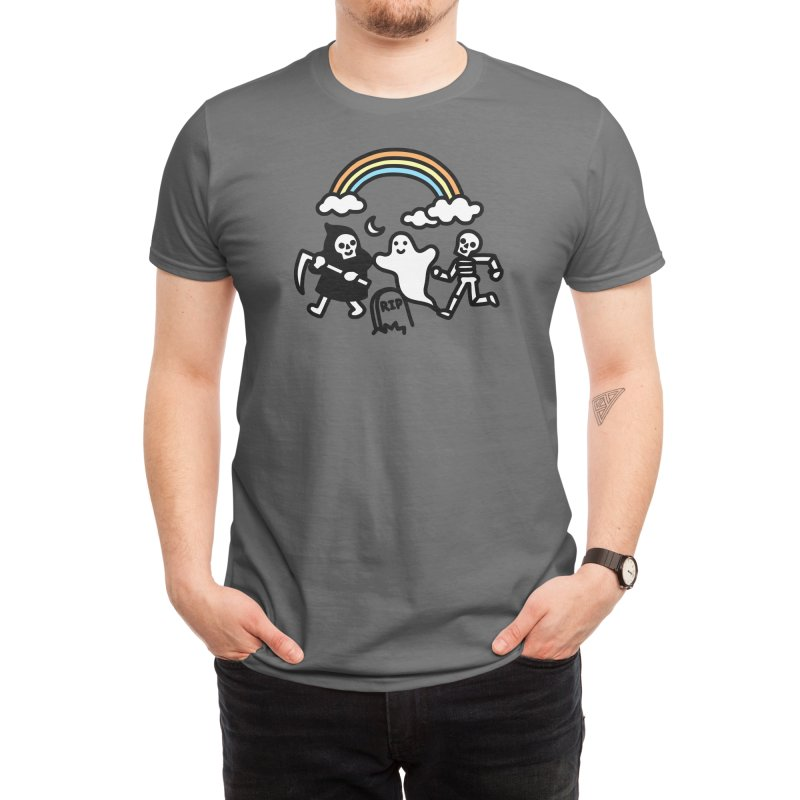 Spooky Pals Men's T-Shirt by Threadless Artist Shop