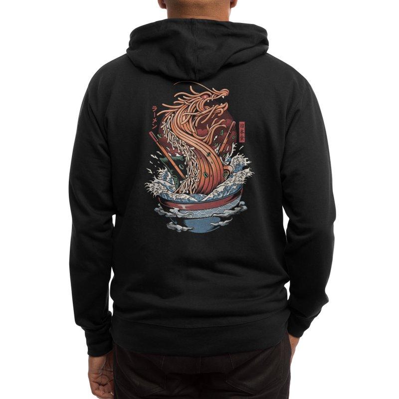 Ramen Dragon Men's Zip-Up Hoody by Threadless Artist Shop