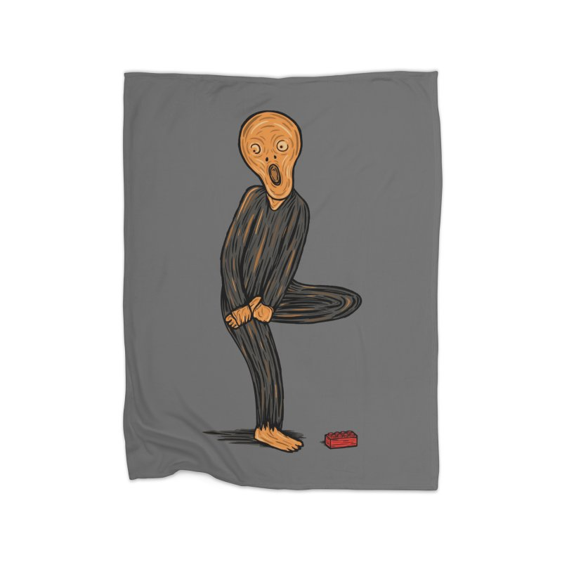 The Scream Of Pain! Home Blanket by Threadless Artist Shop