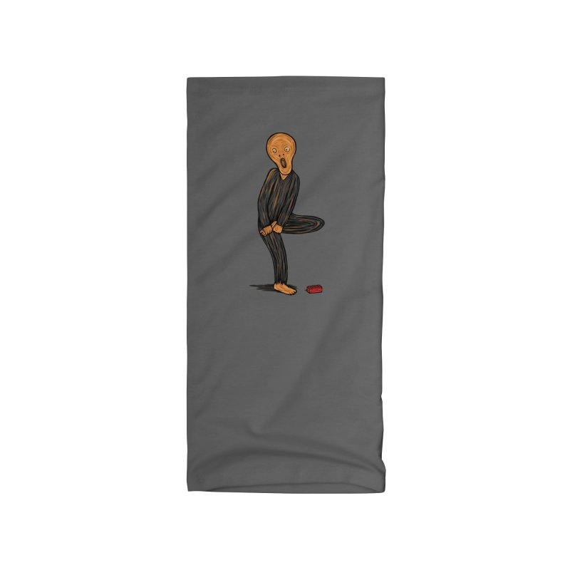 The Scream Of Pain! Accessories Neck Gaiter by Threadless Artist Shop