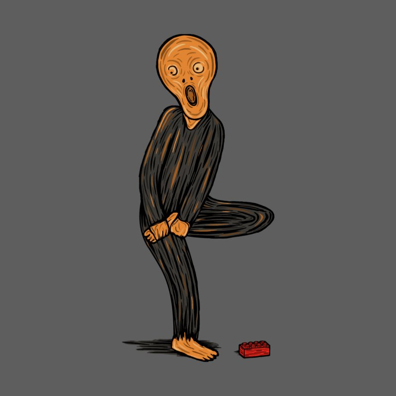 The Scream Of Pain! Men's T-Shirt by Threadless Artist Shop