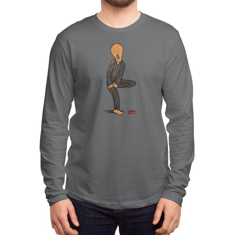 The Scream Of Pain! Men's Longsleeve T-Shirt by Threadless Artist Shop