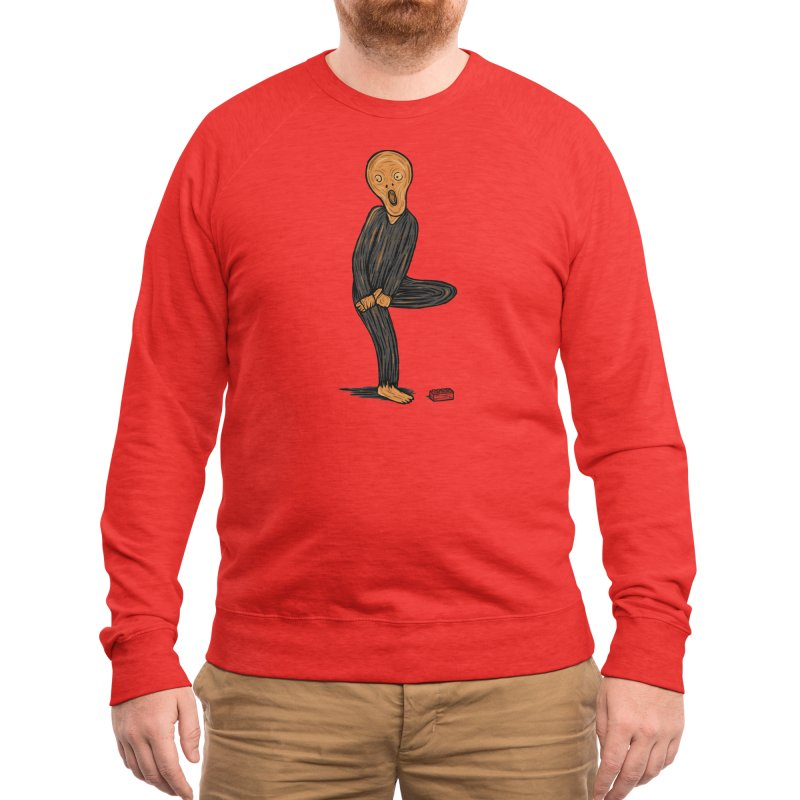 The Scream Of Pain! Men's Sweatshirt by Threadless Artist Shop