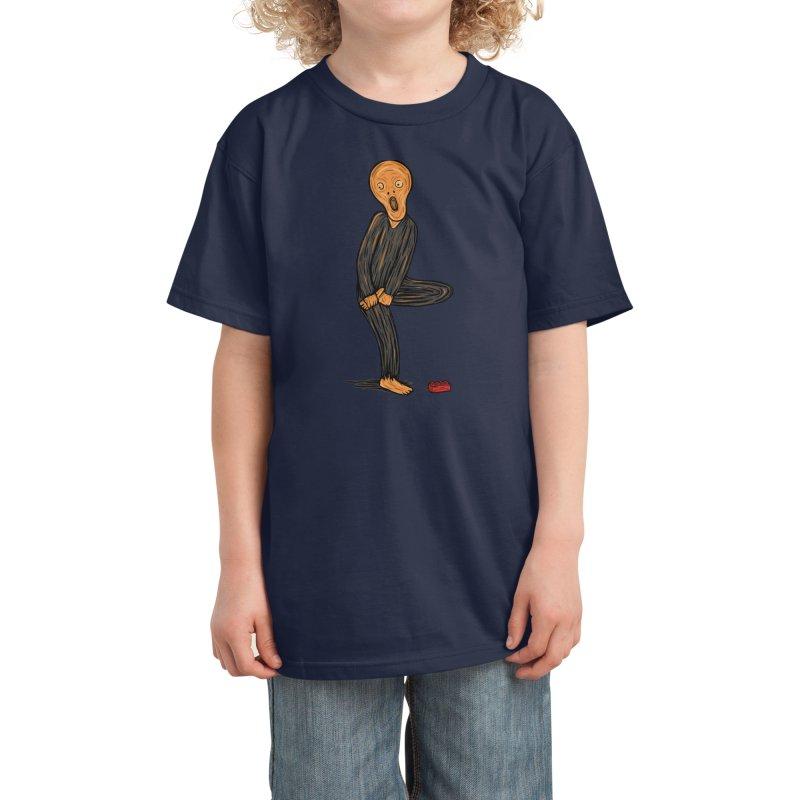 The Scream Of Pain! Kids T-Shirt by Threadless Artist Shop