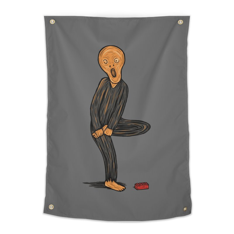 The Scream Of Pain! Home Tapestry by Threadless Artist Shop