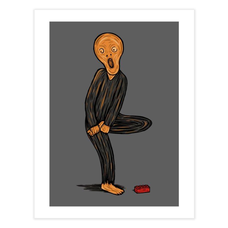 The Scream Of Pain! Home Fine Art Print by Threadless Artist Shop