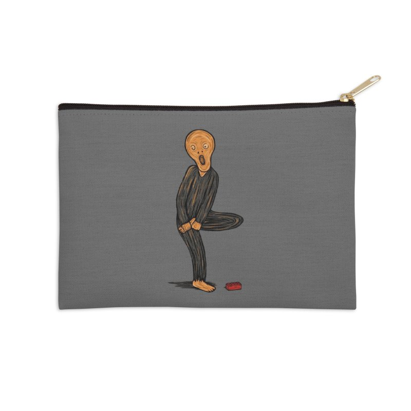 The Scream Of Pain! Accessories Zip Pouch by Threadless Artist Shop
