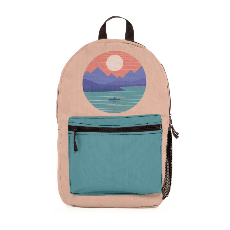 Peaceful Reflection Accessories Bag by Threadless Artist Shop