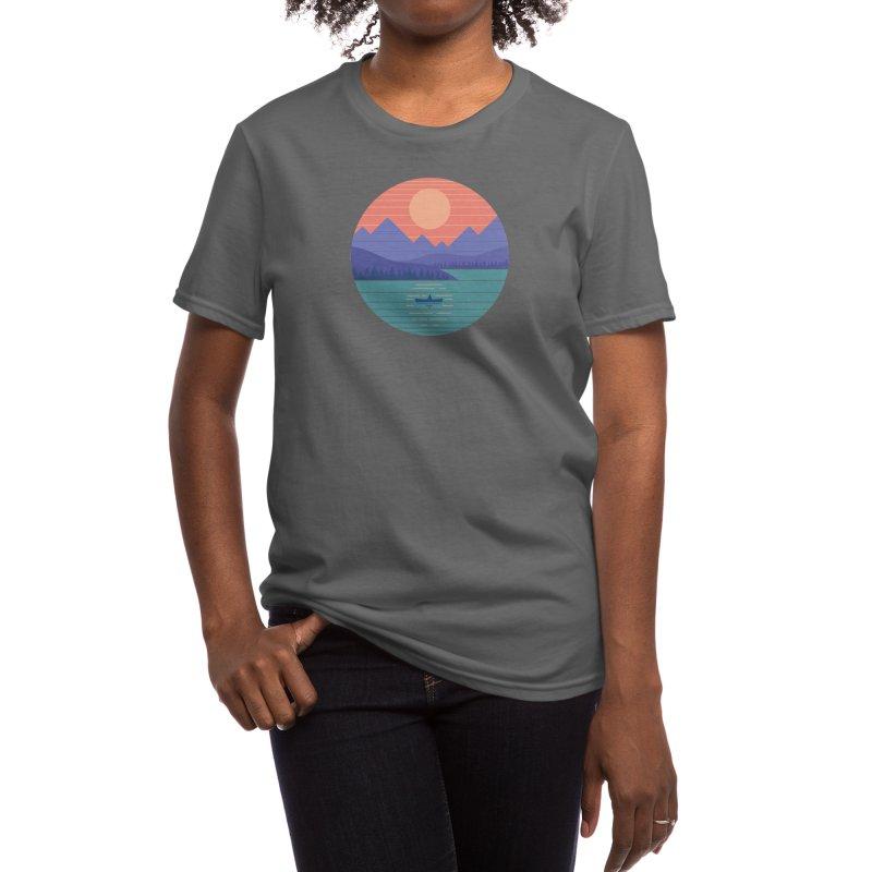 Peaceful Reflection Women's T-Shirt by Threadless Artist Shop