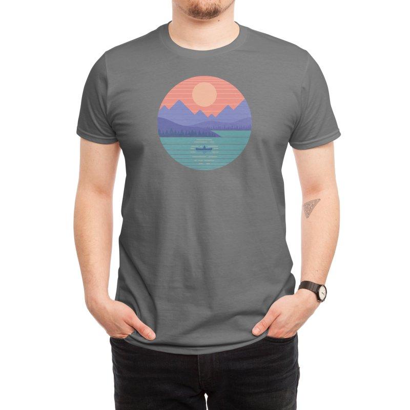 Peaceful Reflection Men's T-Shirt by Threadless Artist Shop