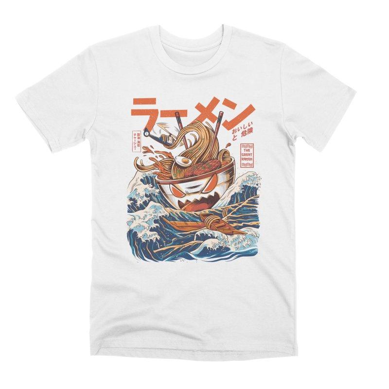 The Great Ramen off Kanagawa Men's T-Shirt by Threadless Artist Shop