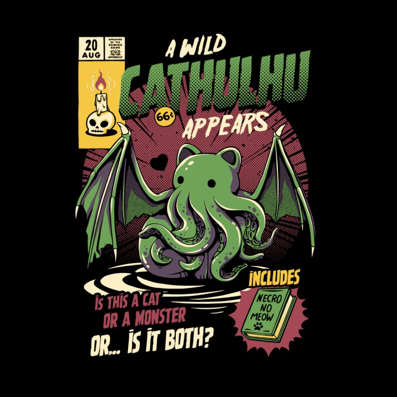 Cathulhu Home Blanket by Threadless Artist Shop
