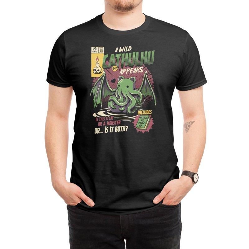Cathulhu Men's T-Shirt by Threadless Artist Shop