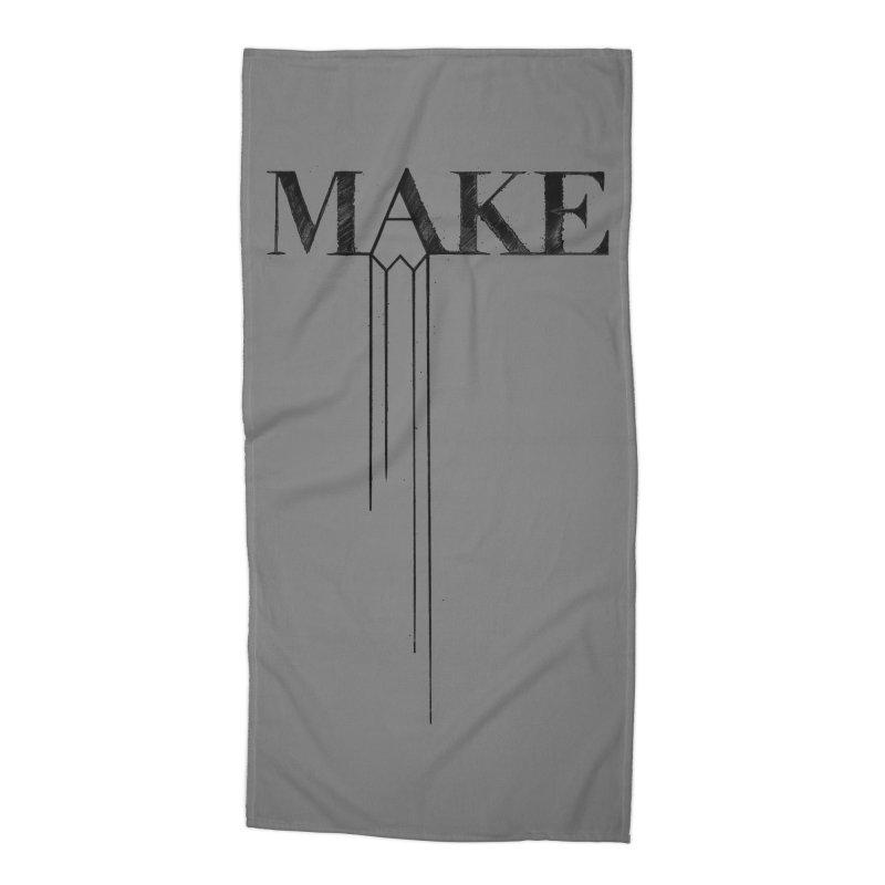 Make Accessories Beach Towel by Threadless Artist Shop