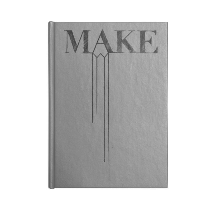 Make Accessories Notebook by Threadless Artist Shop
