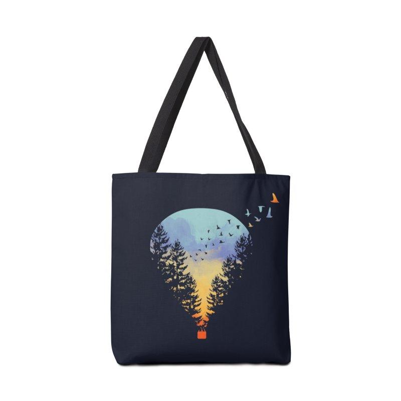 Flying Far Far Away Accessories Bag by Threadless Artist Shop