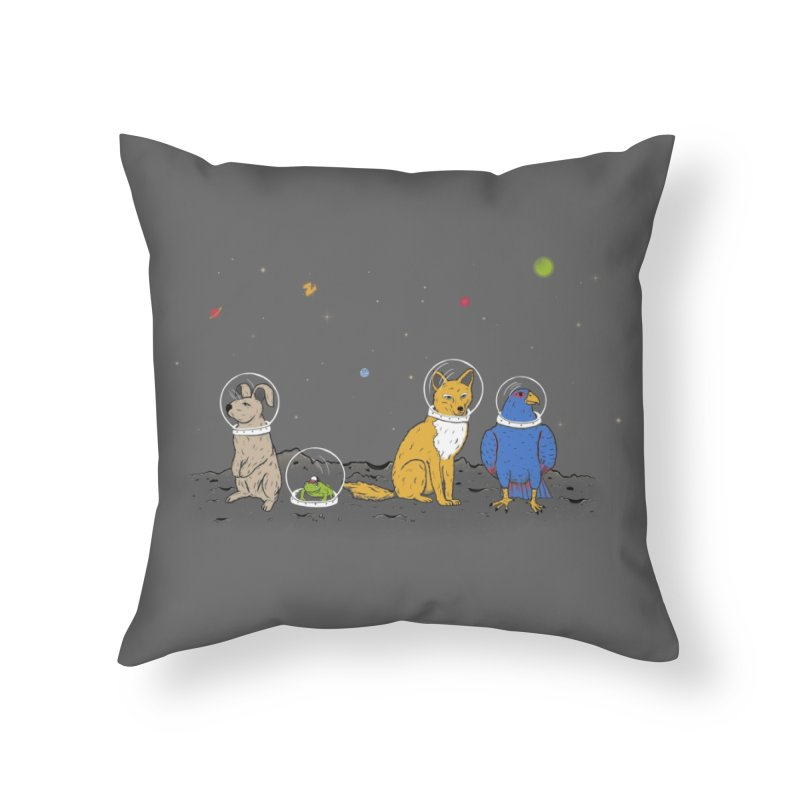 Do a Barrel Roll! Home Throw Pillow by Threadless Artist Shop