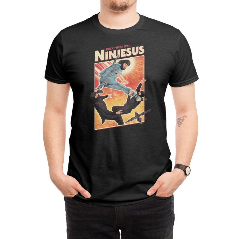 Ninjesus Men's T-Shirt by Threadless Artist Shop