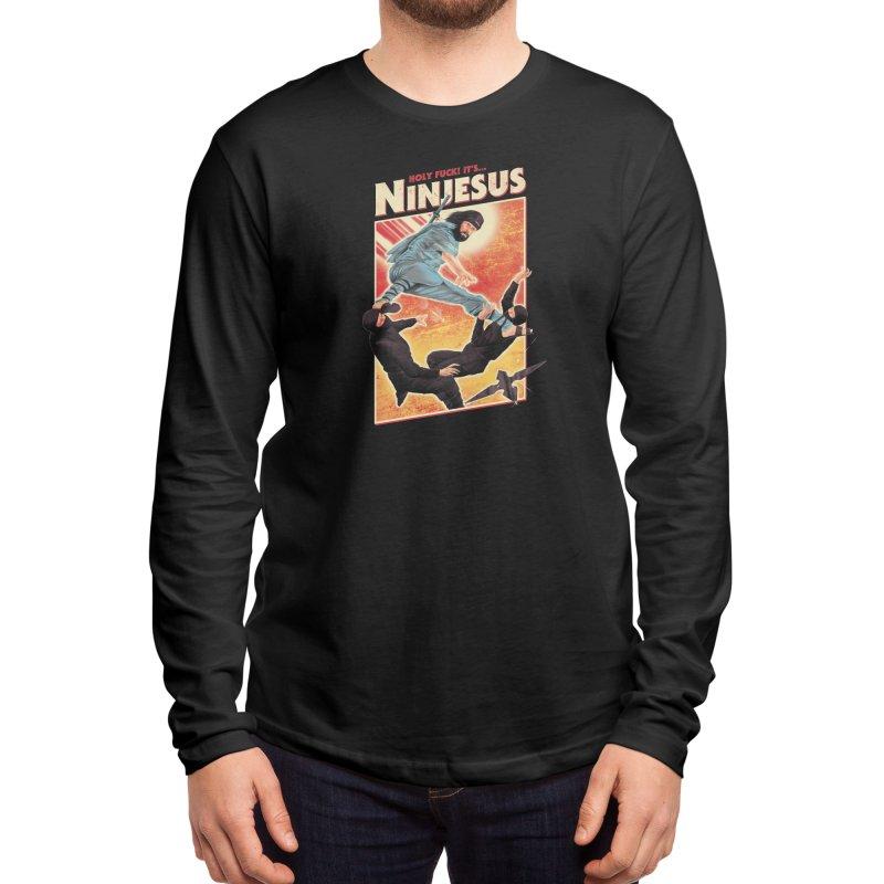 Ninjesus Men's Longsleeve T-Shirt by Threadless Artist Shop