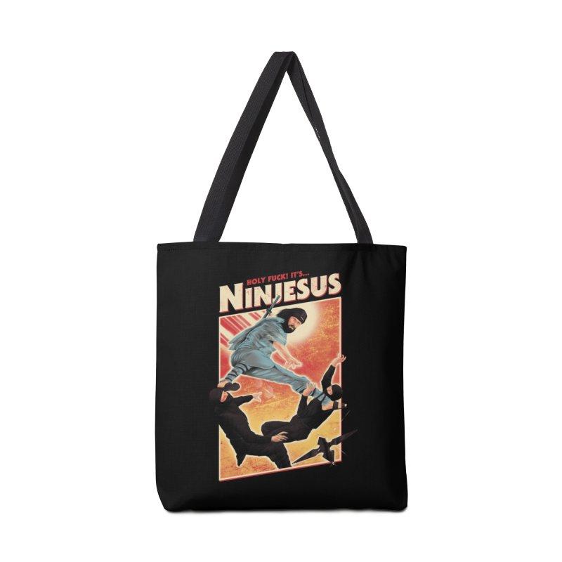 Ninjesus Accessories Bag by Threadless Artist Shop