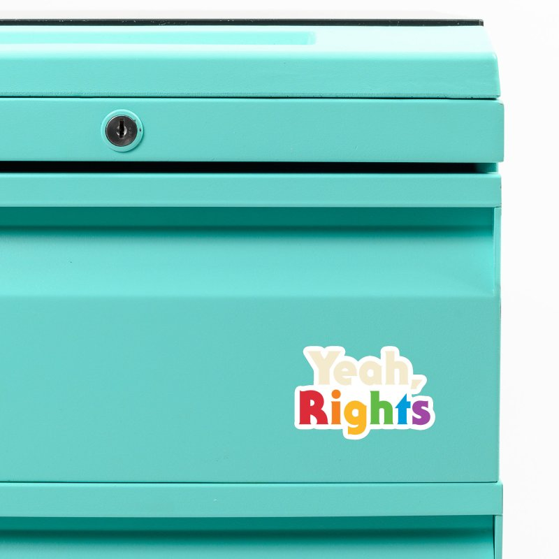 Yeah, Rights Accessories Magnet by Threadless Artist Shop