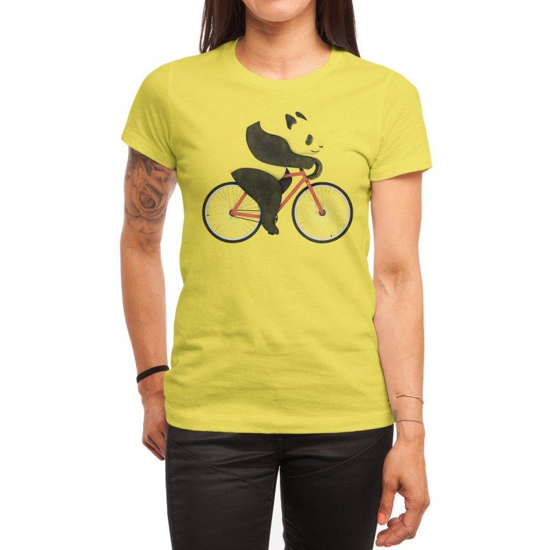 Panda Fixie Women's T-Shirt by Threadless Artist Shop