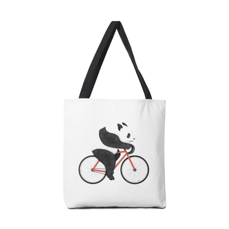 Panda Fixie Accessories Bag by Threadless Artist Shop