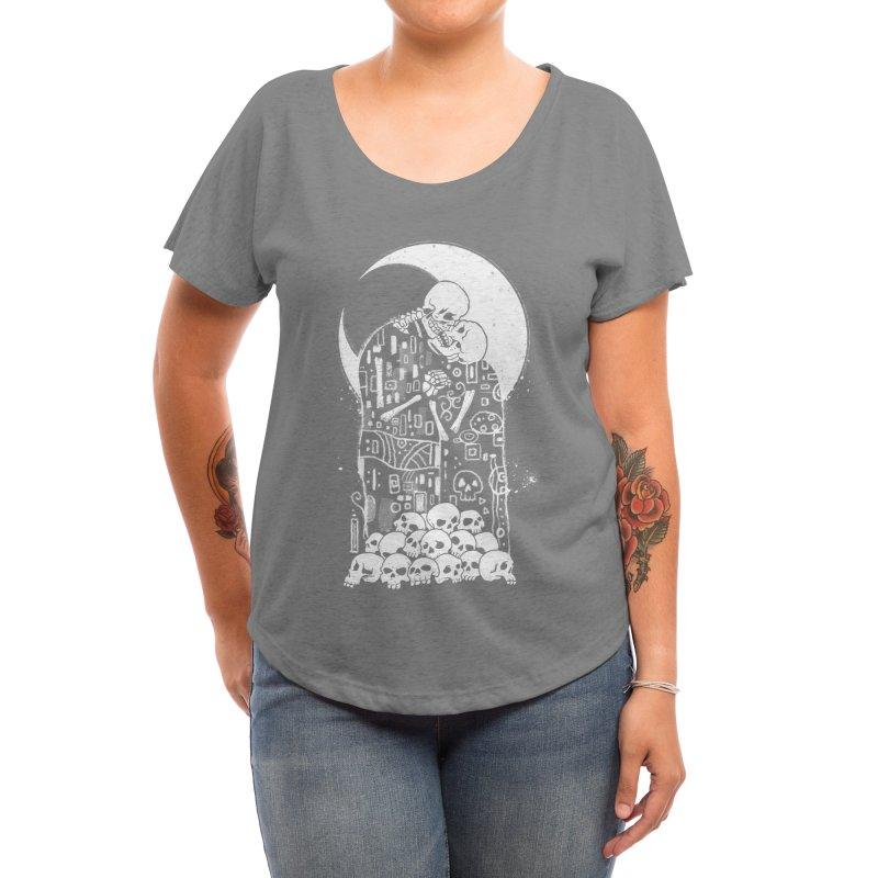 The Kiss of Death Women's Scoop Neck by Threadless Artist Shop