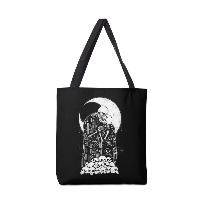 The Kiss of Death Accessories Bag by Threadless Artist Shop