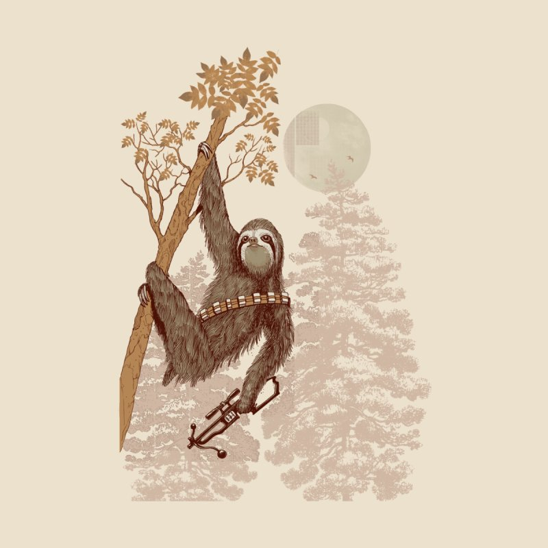 Sloth Wars Men's T-Shirt by Threadless Artist Shop