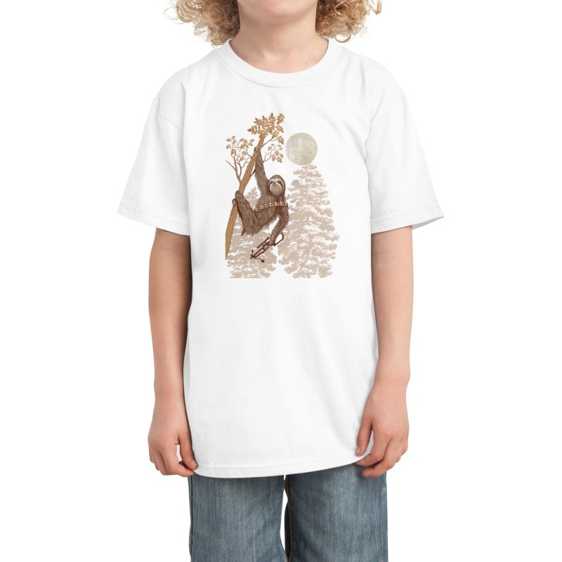 Sloth Wars Kids T-Shirt by Threadless Artist Shop