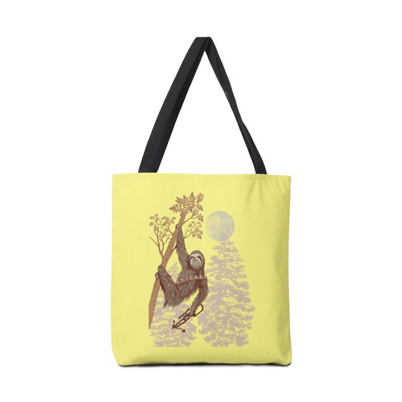 Sloth Wars Accessories Bag by Threadless Artist Shop