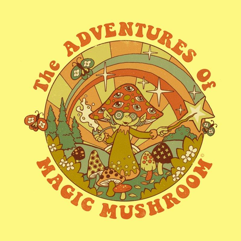Magic Mushroom Home Rug by Threadless Artist Shop
