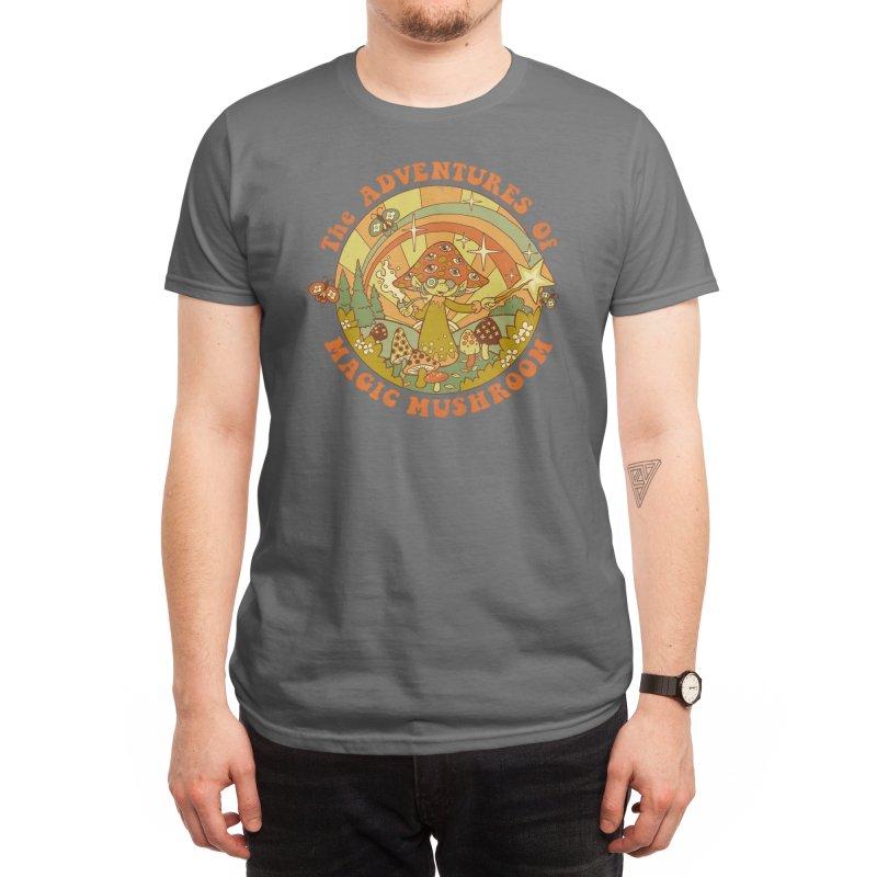 Magic Mushroom Men's T-Shirt by Threadless Artist Shop