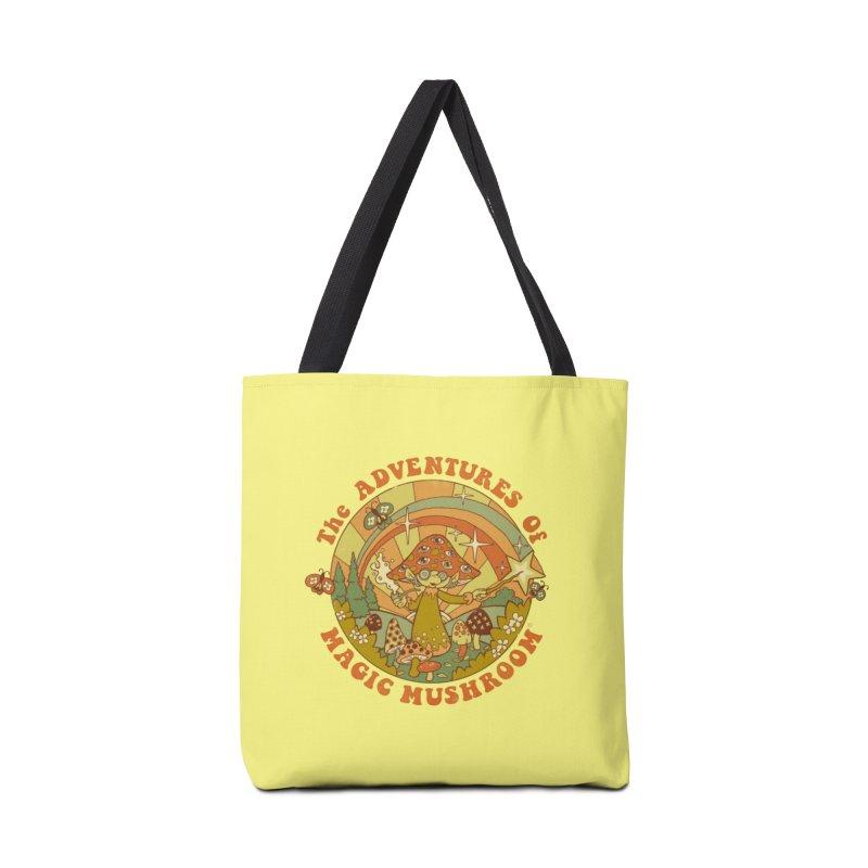 Magic Mushroom Accessories Bag by Threadless Artist Shop
